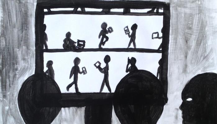 CyberOmbre : Théâtre d'ombre avec les jeunes pour repenser le numérique, 7, 8, 14 et 15 février Maison des projet